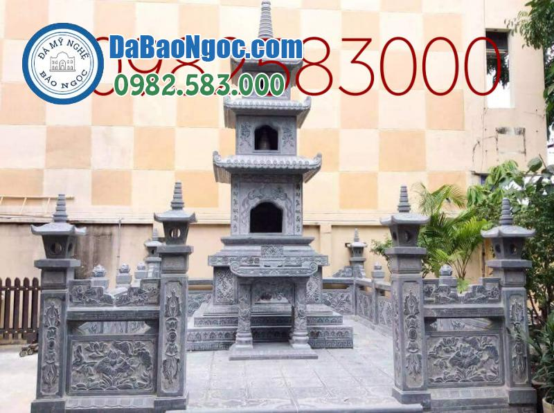 Lăng mộ đá tháp phật giáo