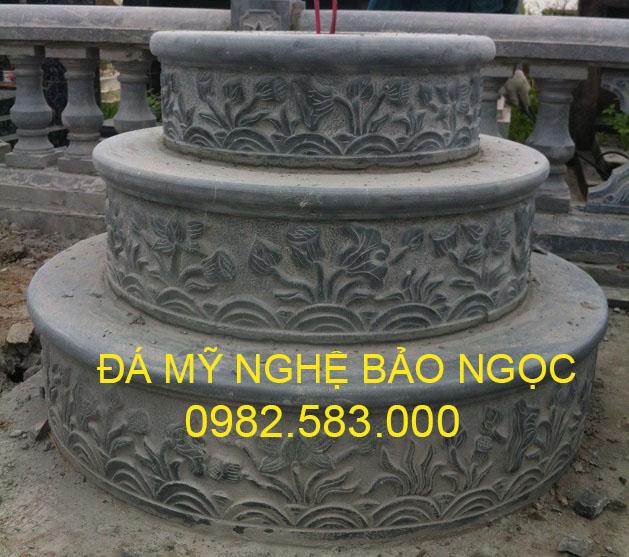Mộ đá tròn đẹp Ninh Bình