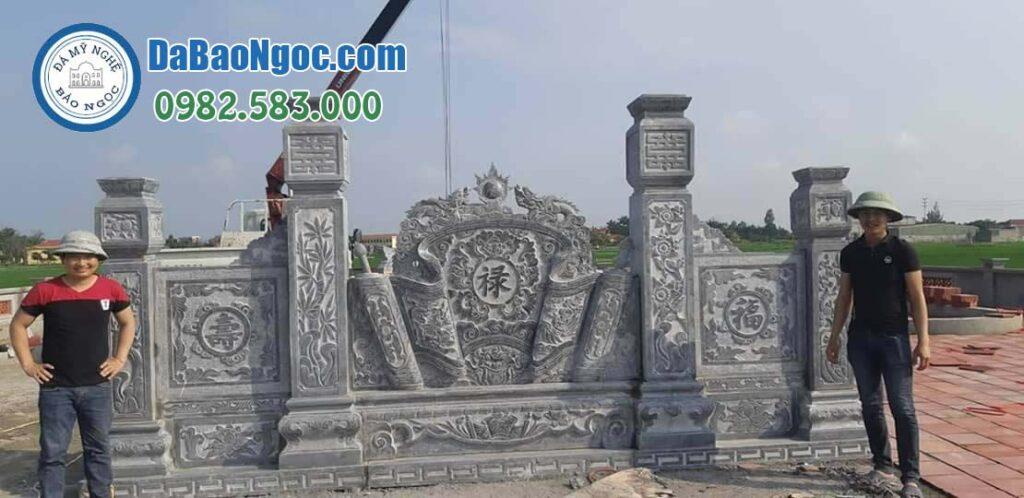 Công trình cuốn thư đá tại Ninh Bình