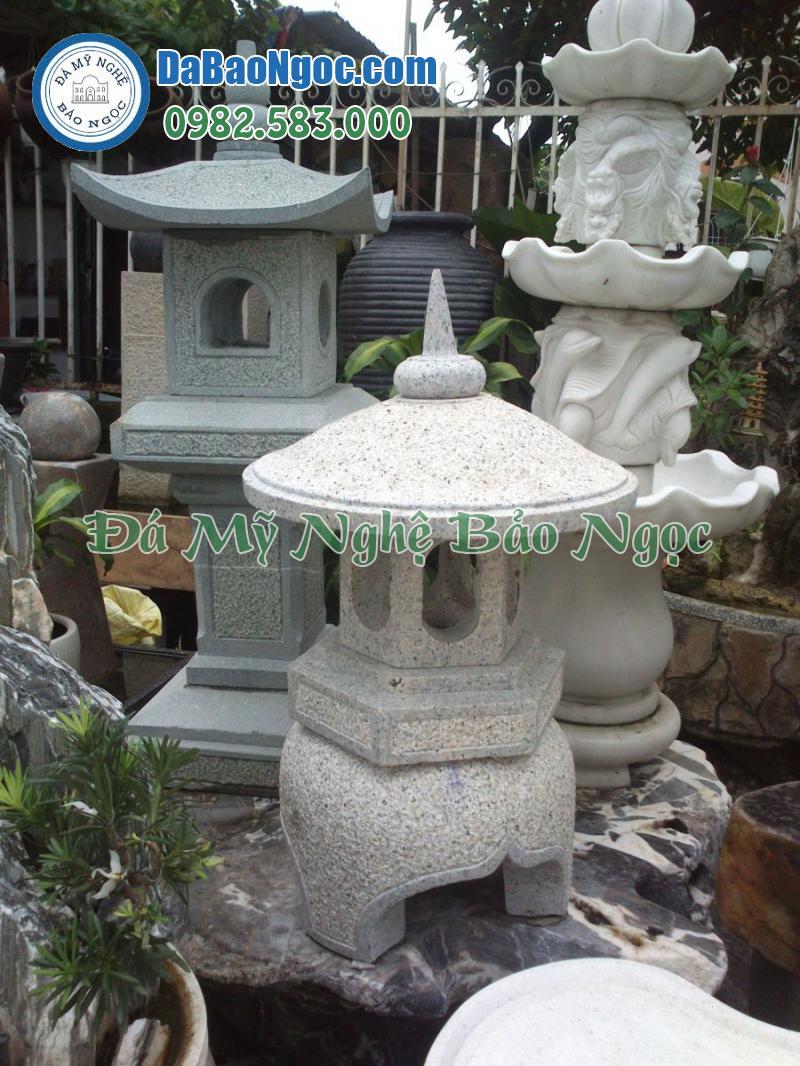 Mẫu đèn đá bằng đá trắng