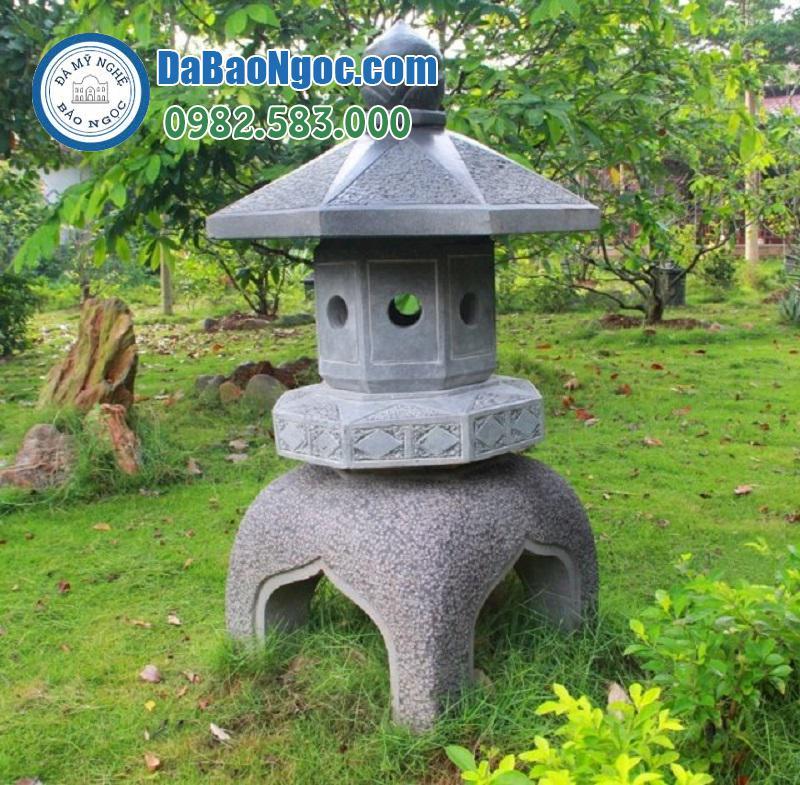 Mẫu đèn đá sân vườn