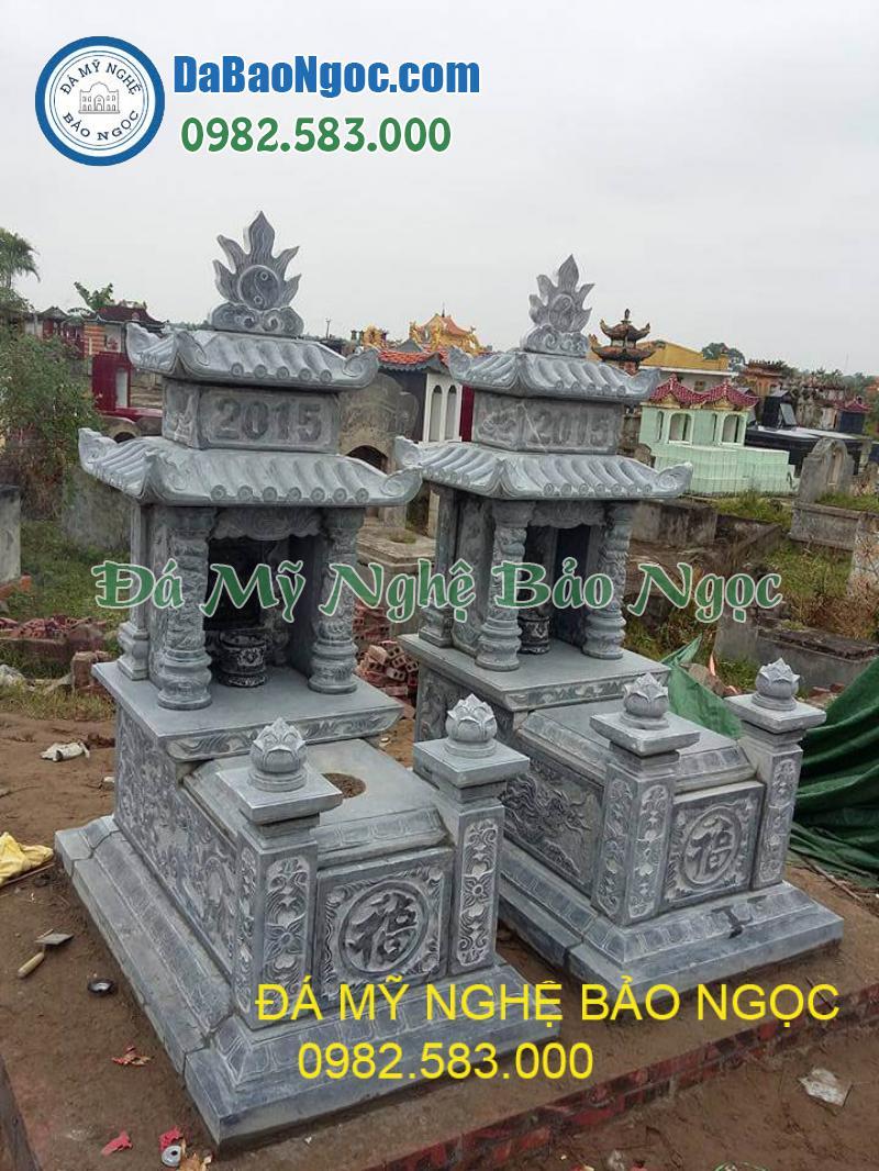 Mộ đá 2 mái ở Ninh Bình