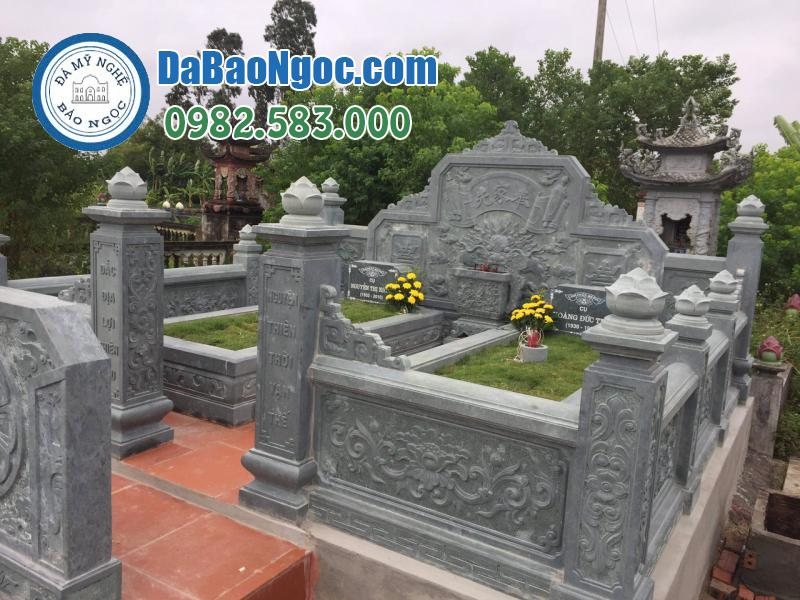 Lăng mộ đá đẹp ở Ninh Vân