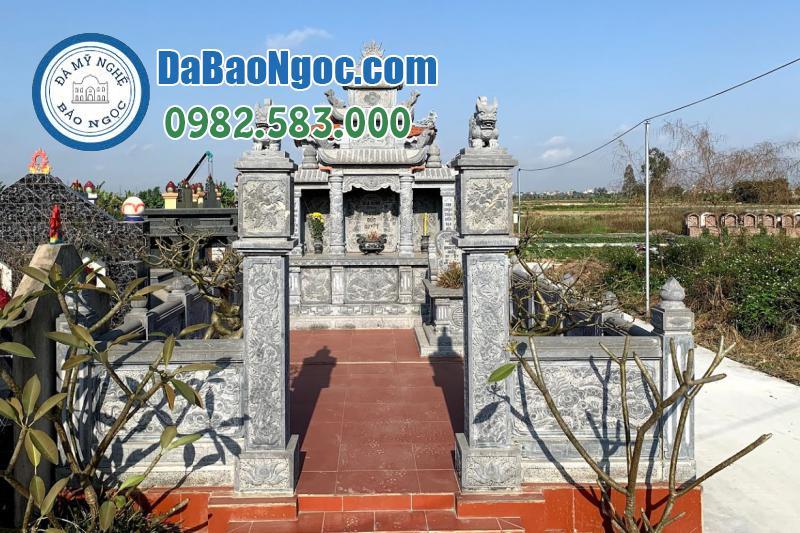 lăng mộ đá xanh Ninh Bình