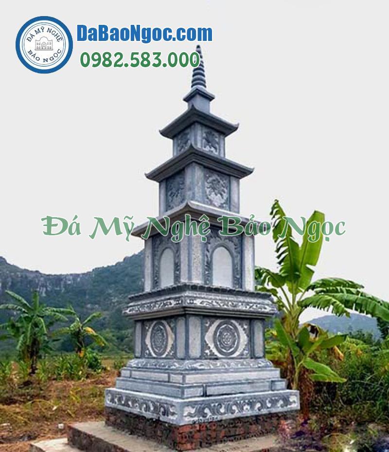 Mộ tháp đá phật giáo