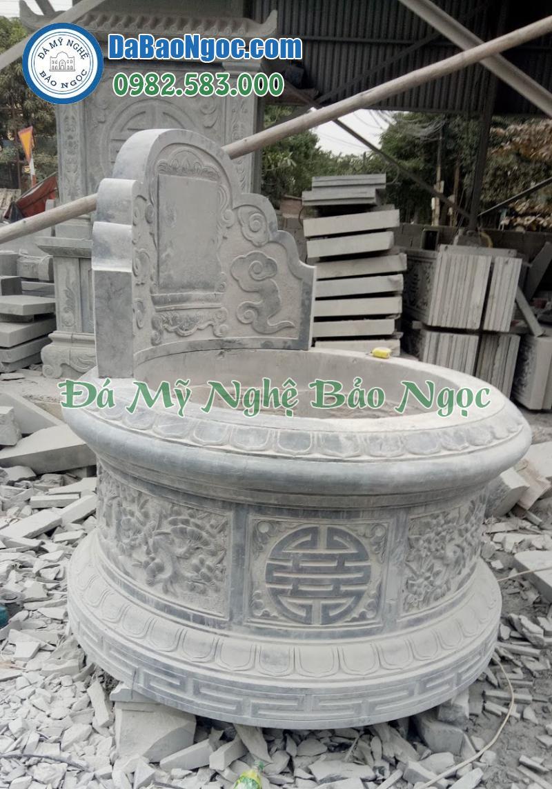 Mộ đá tròn nhỏ tại Ninh Bình