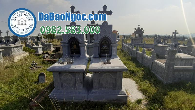 mộ đá công giáo-1