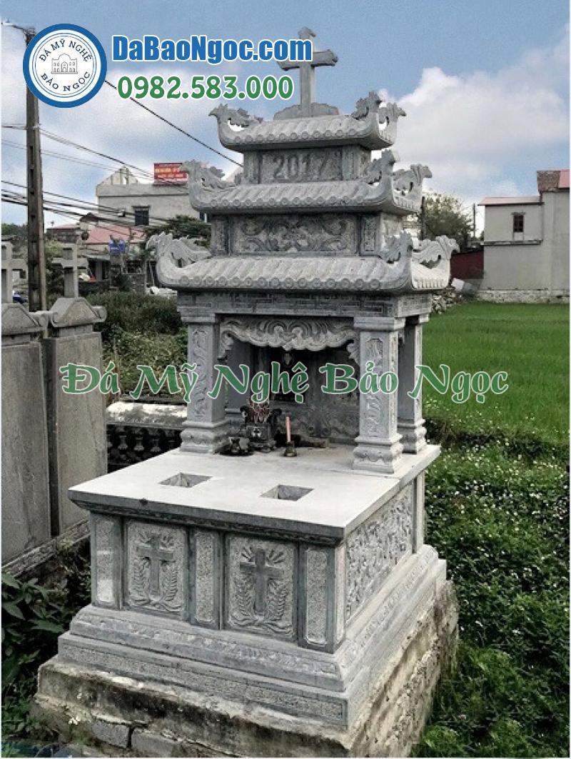 mộ đá công giáo-10