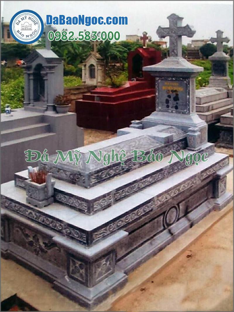 mộ đá công giáo-11