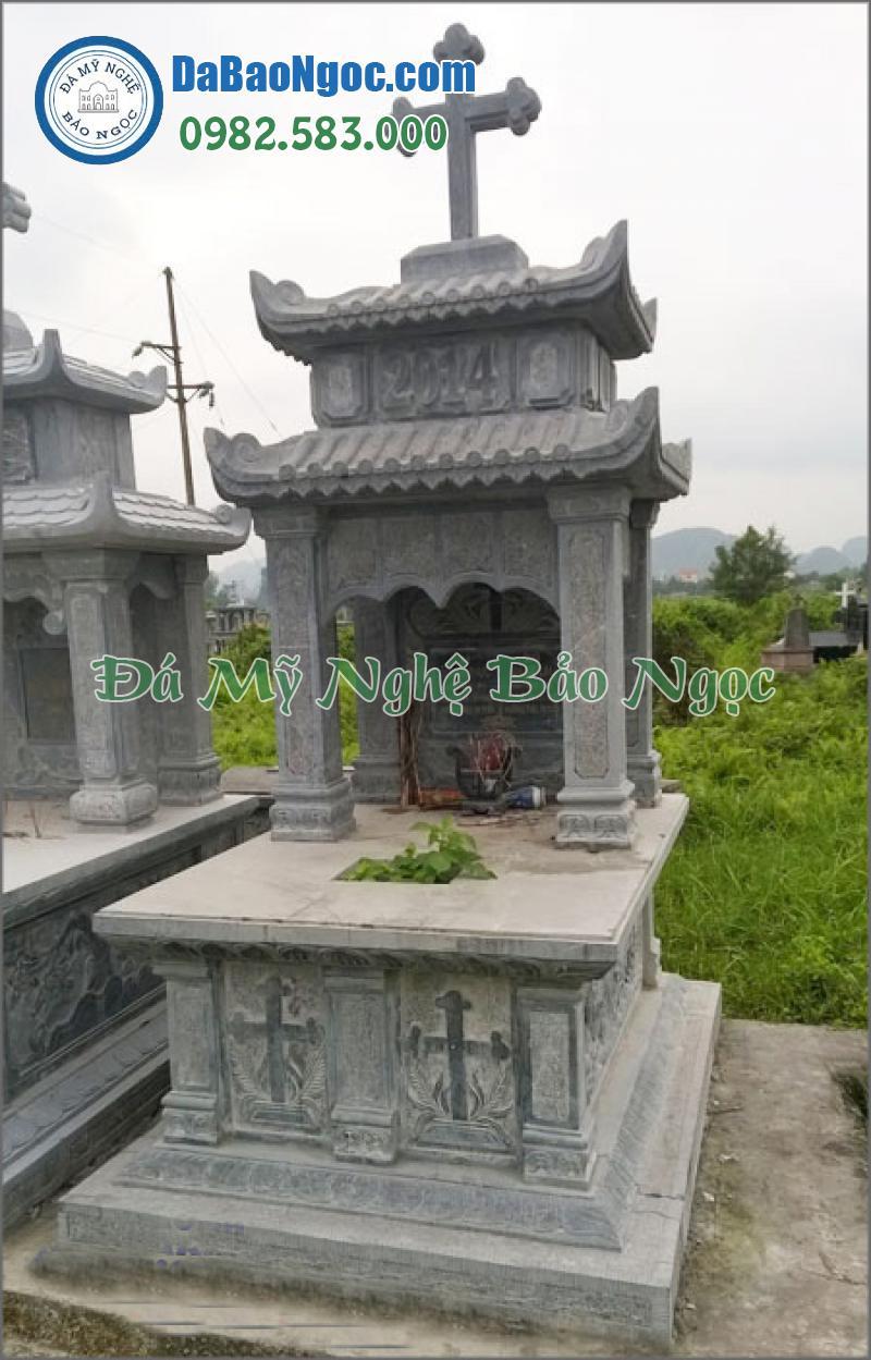 mộ đá công giáo-12