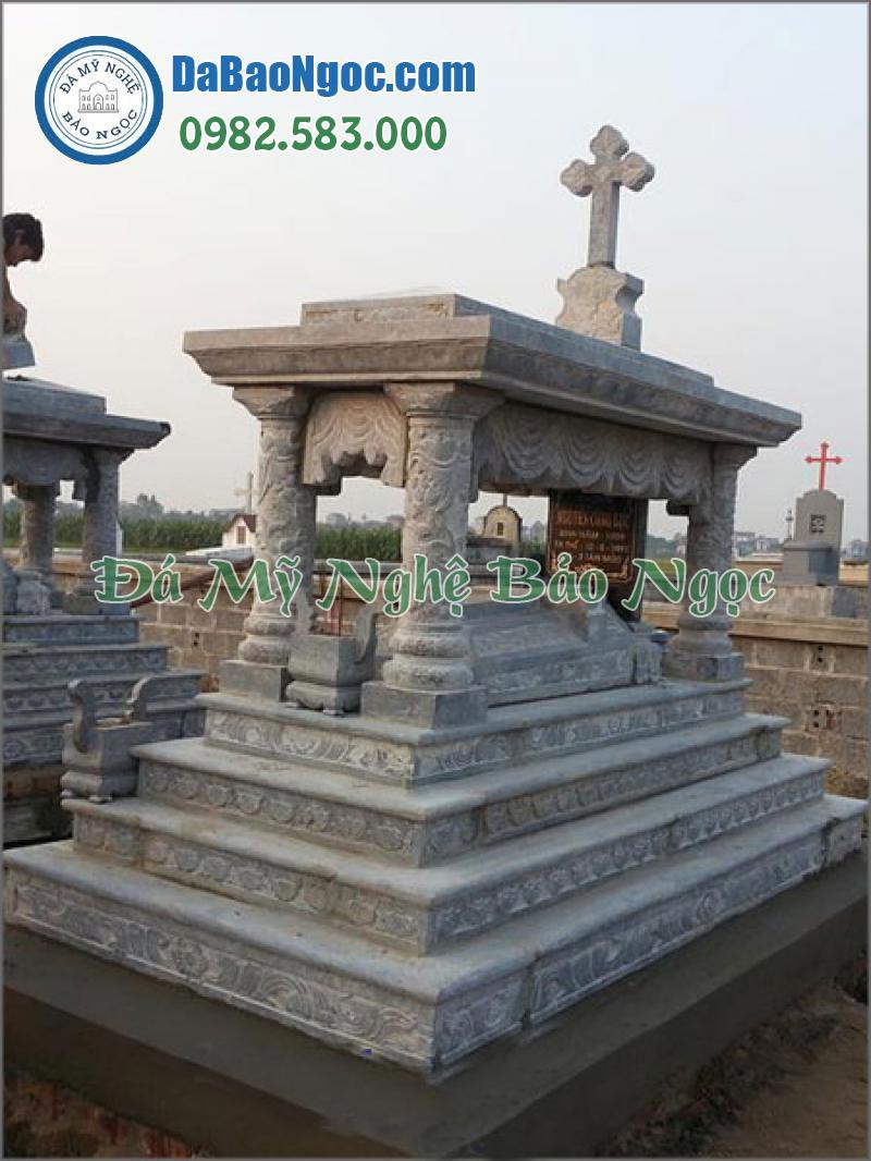 mộ đá công giáo-13