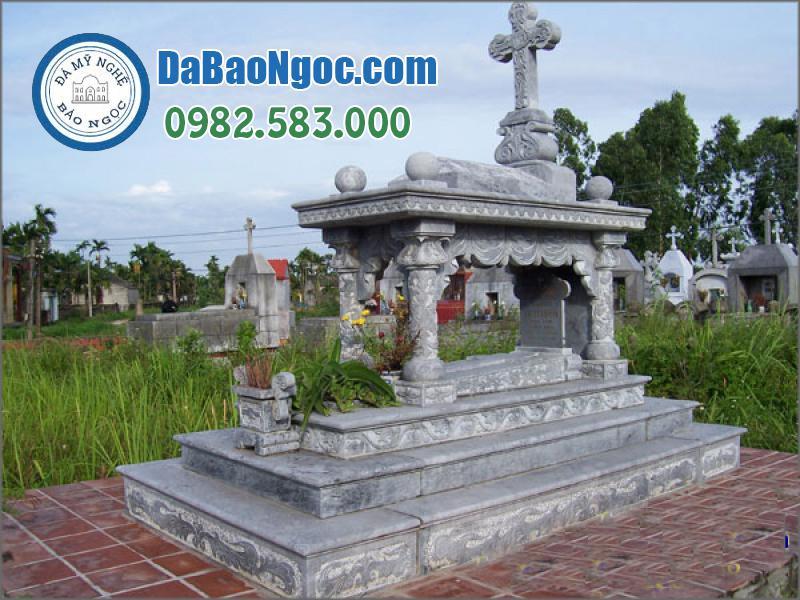 mộ đá công giáo-15