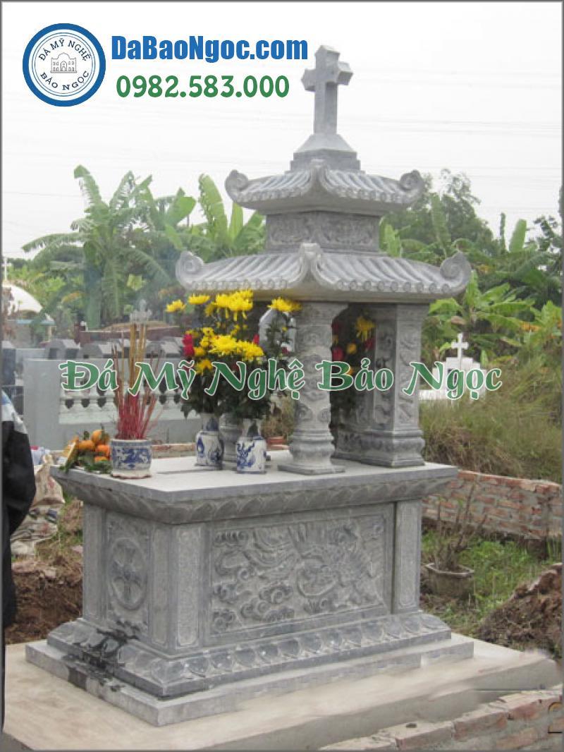 mộ đá công giáo-16