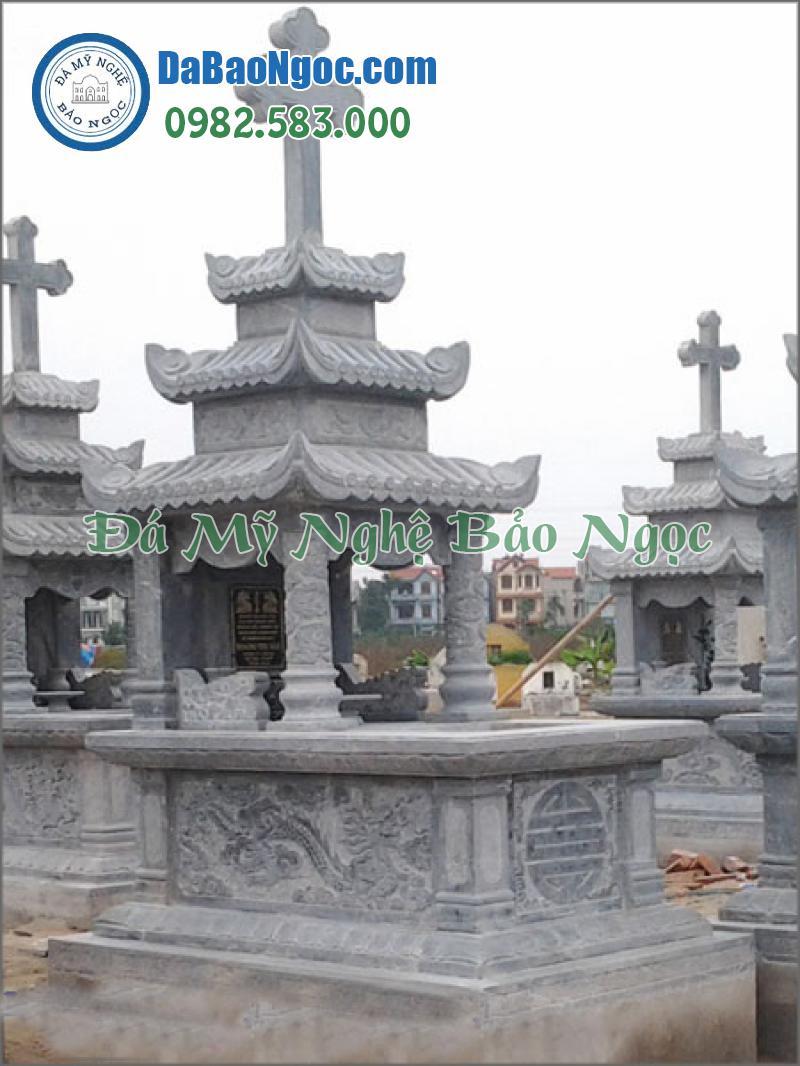 mộ đá công giáo-17