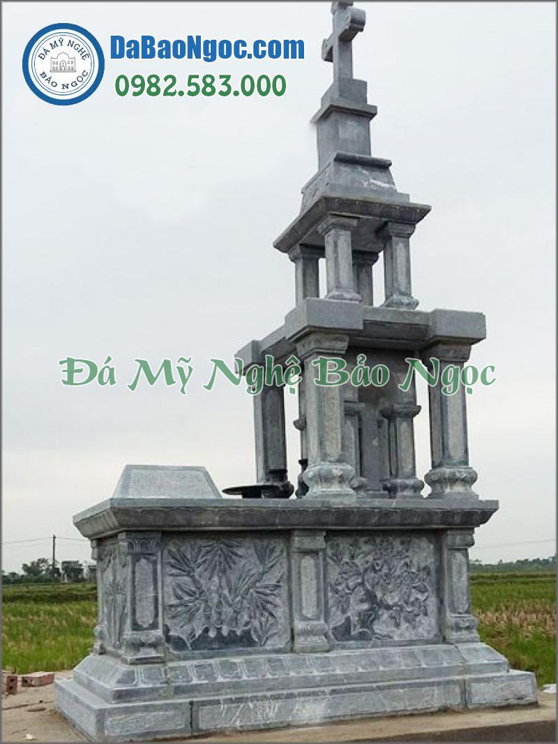 mộ đá công giáo-19