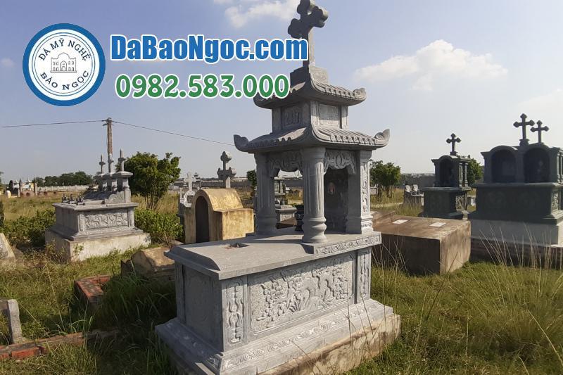 mộ đá công giáo-2