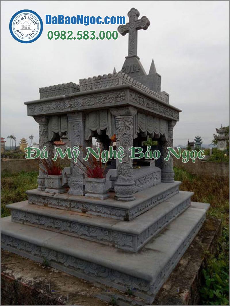 mộ đá công giáo-26