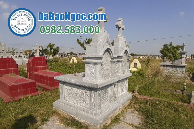 mộ đá công giáo-3