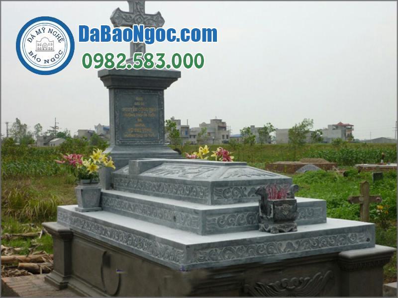 mộ đá công giáo-32