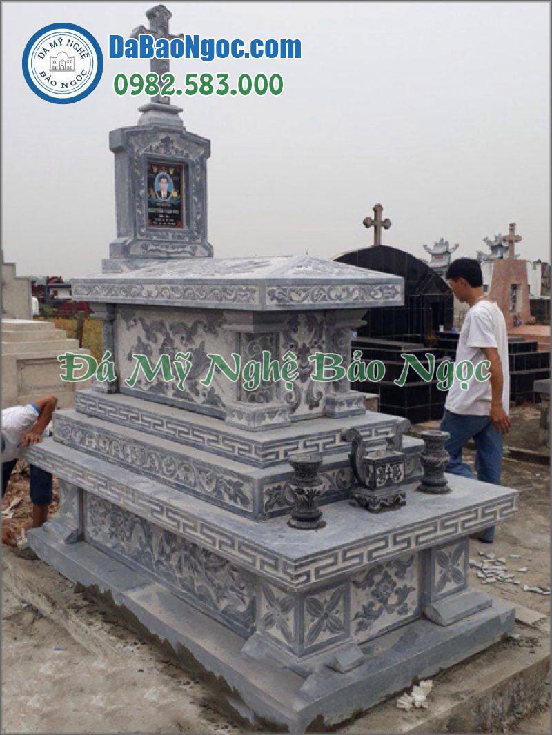 mộ đá công giáo-34