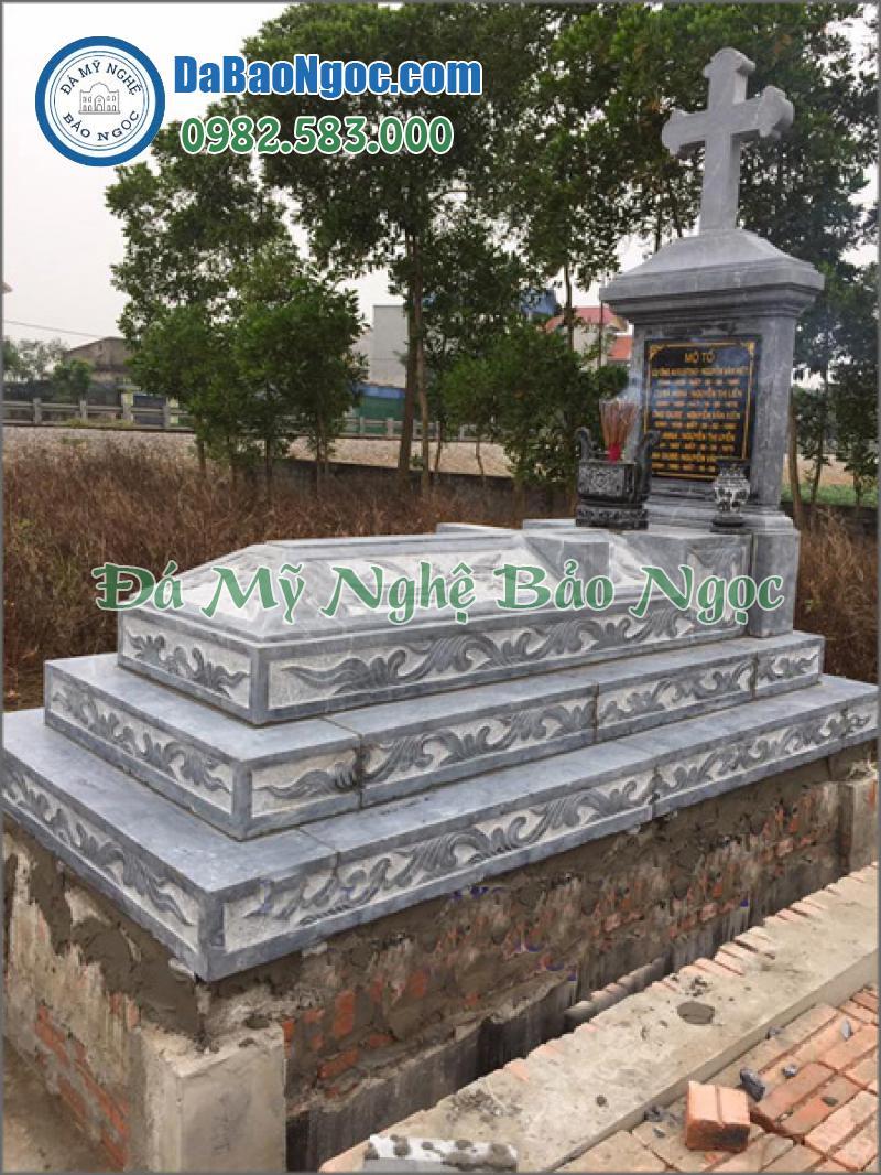 mộ đá công giáo-35
