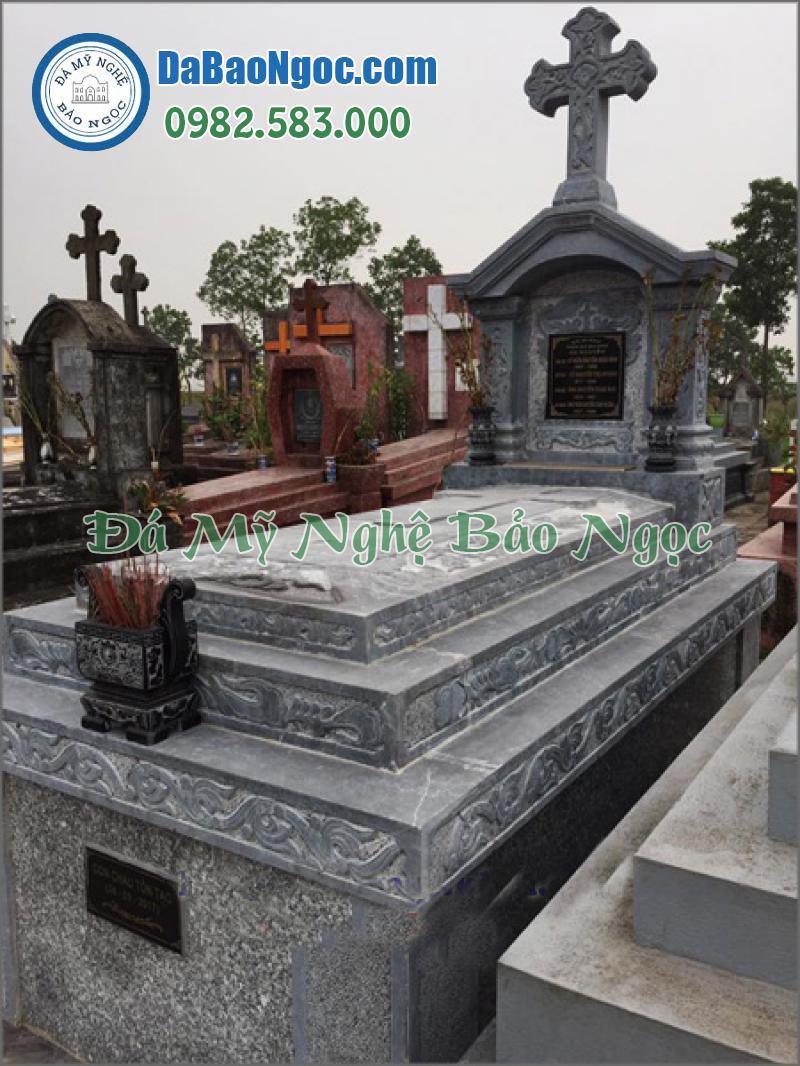 mộ đá công giáo-36