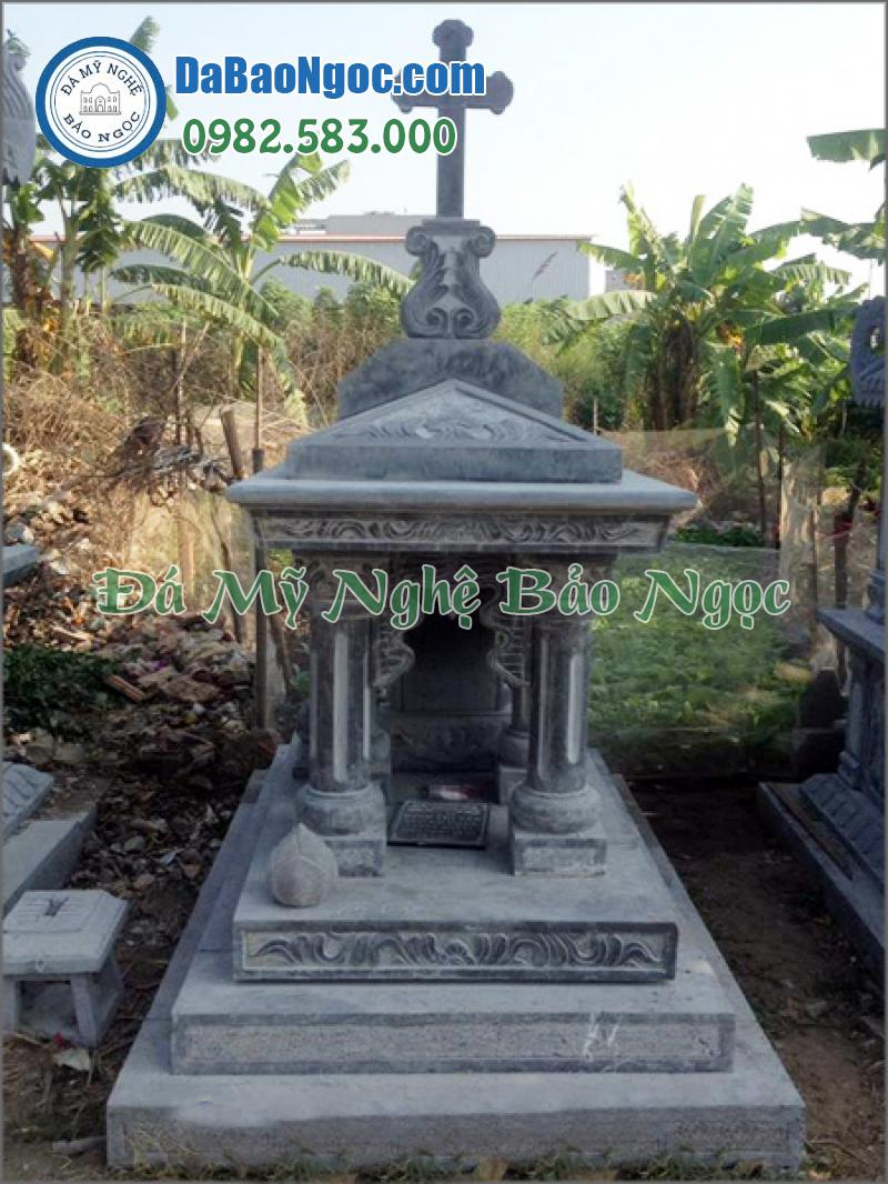 mộ đá công giáo-37