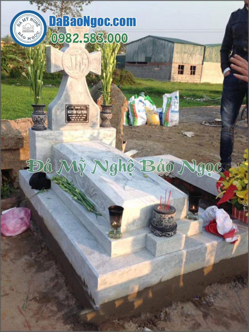 mộ đá công giáo-38