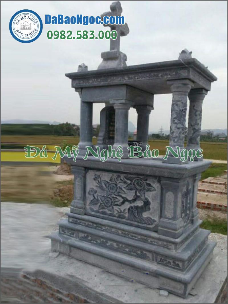 mộ đá công giáo-39