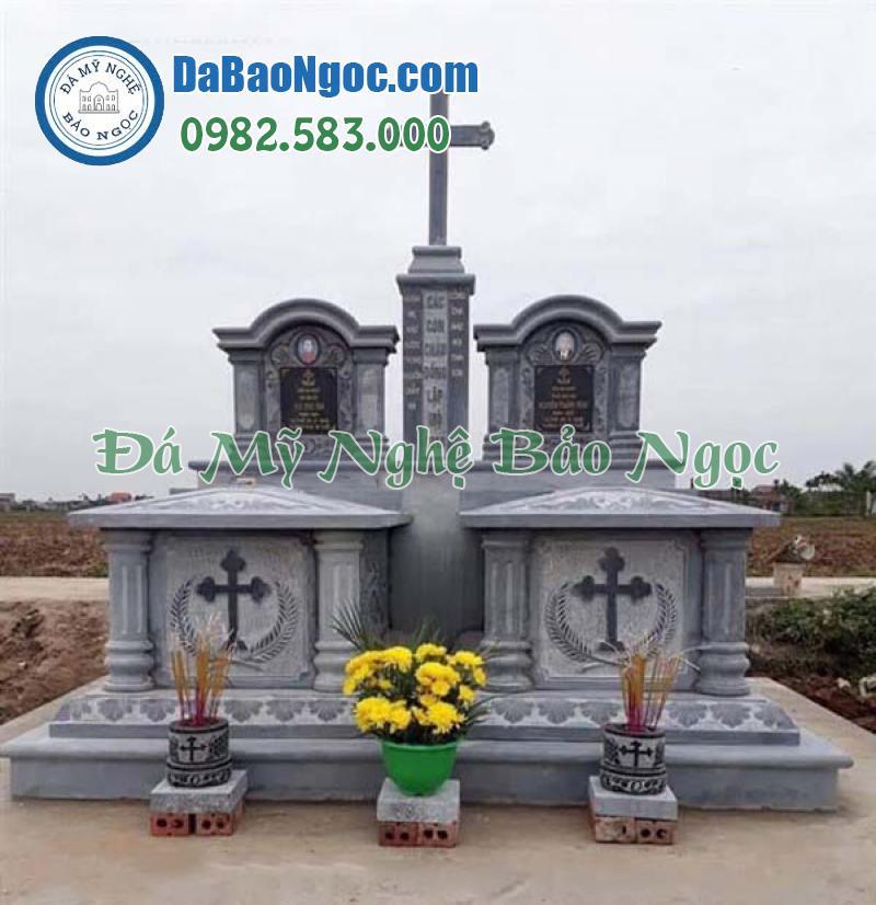mộ đá công giáo-4