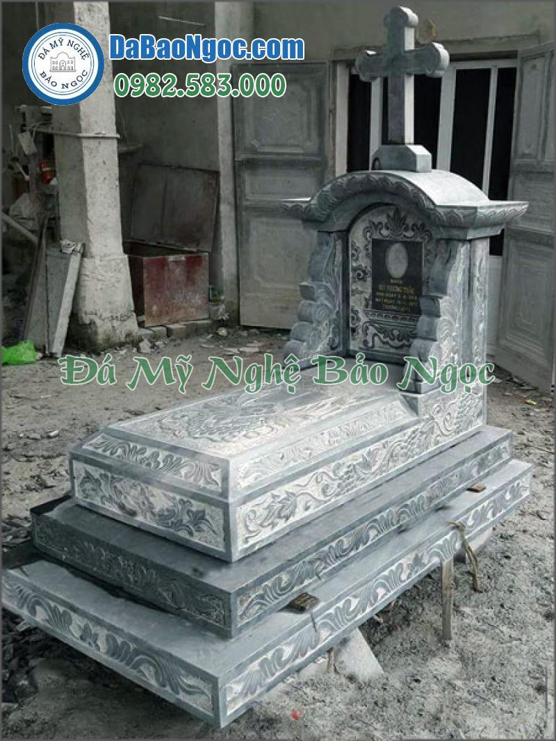 mộ đá công giáo-40