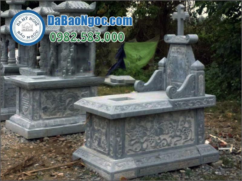 mộ đá công giáo-41