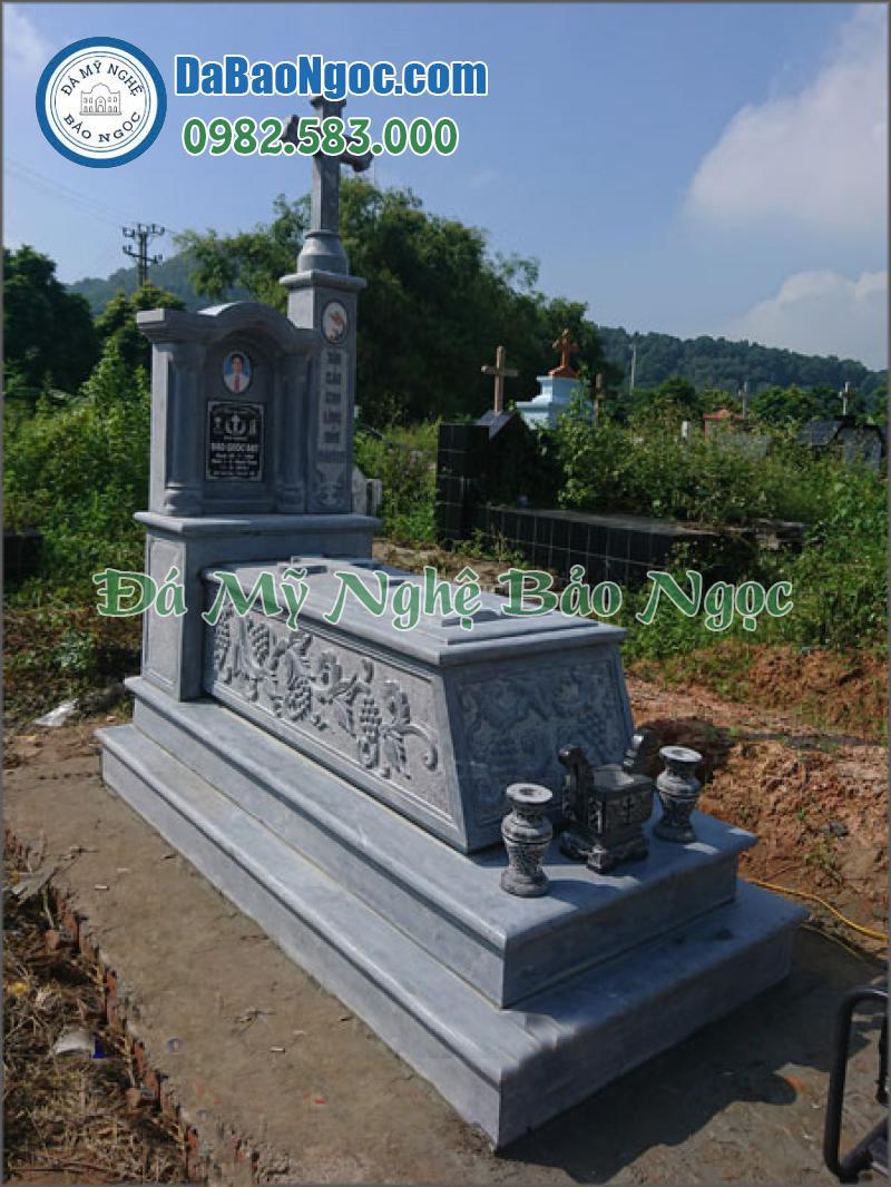 mộ đá công giáo-42