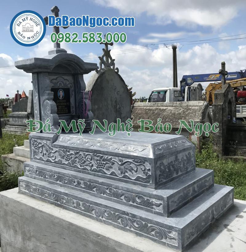 mộ đá công giáo-44