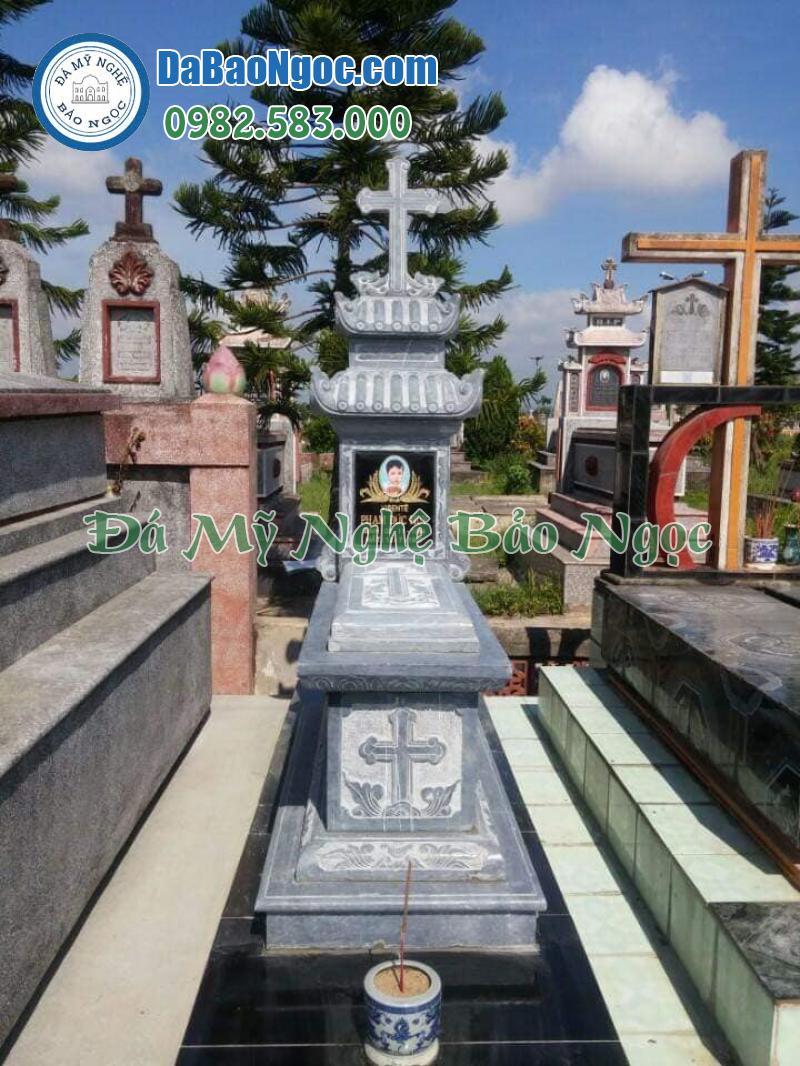 mộ đá công giáo-5