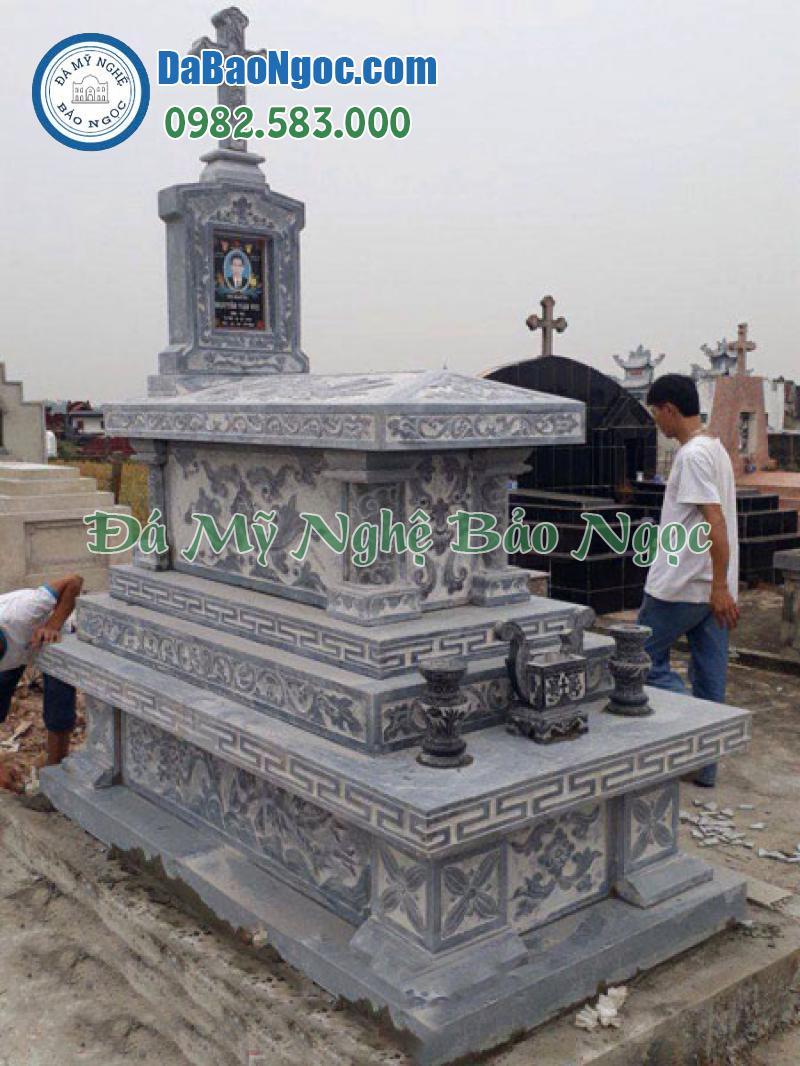 mộ đá công giáo-50