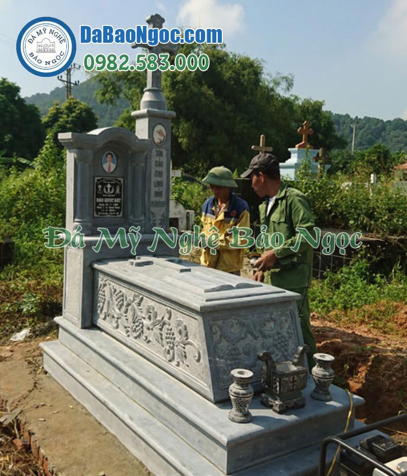mộ đá công giáo-52