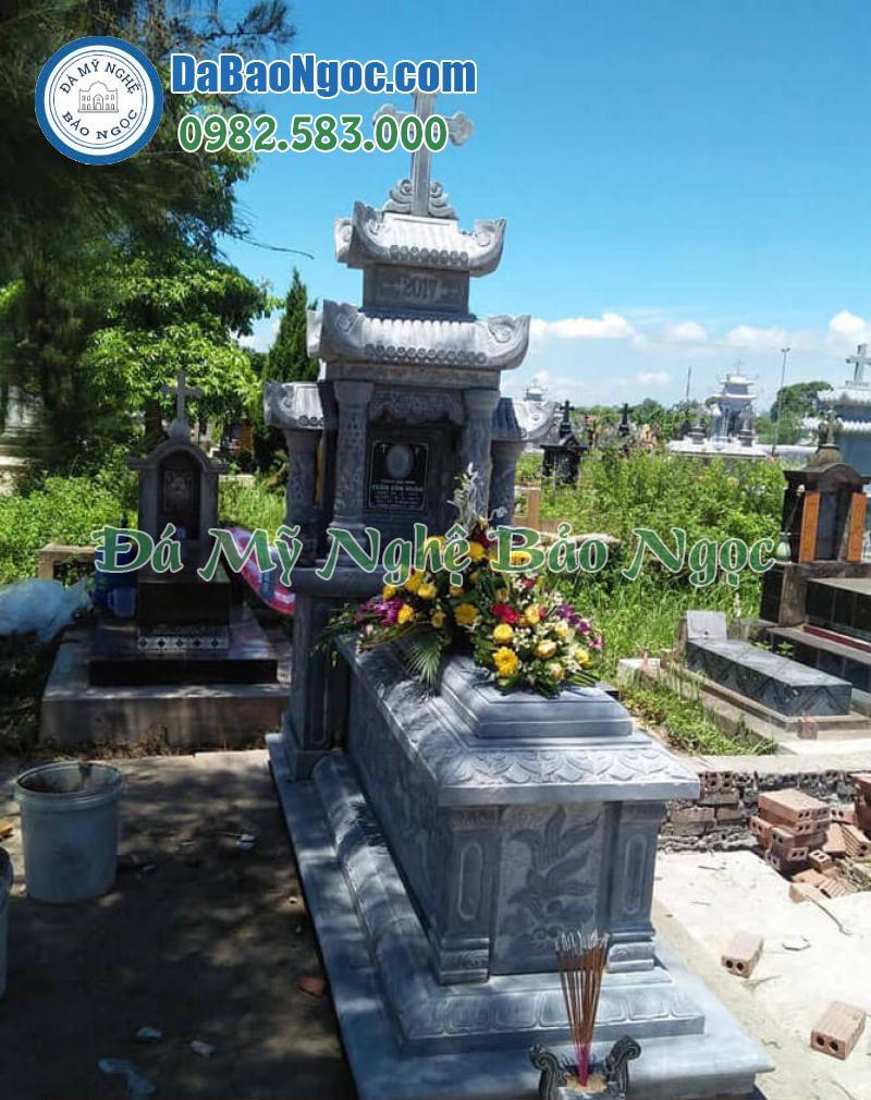 mộ đá công giáo-54