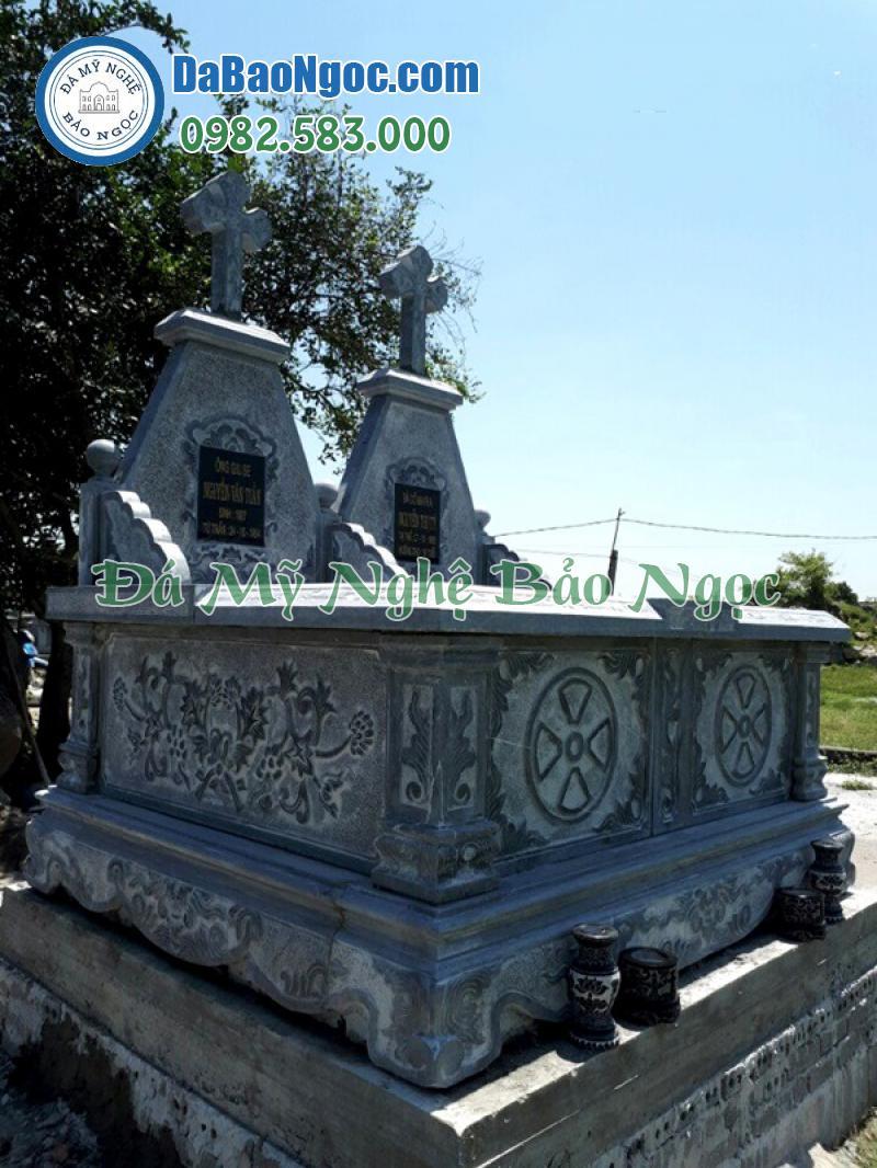 mộ đá công giáo-56