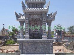 Lăng mộ đá công giáo 3 mái