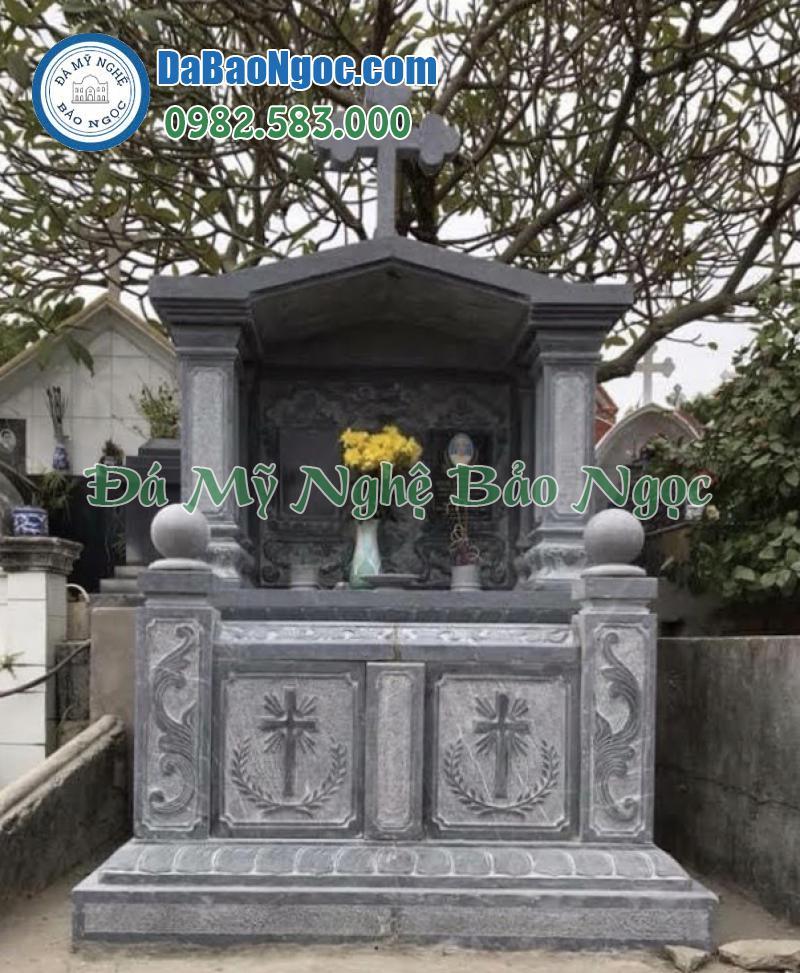 mộ đá công giáo-71