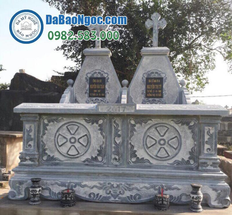 mộ đá công giáo-9