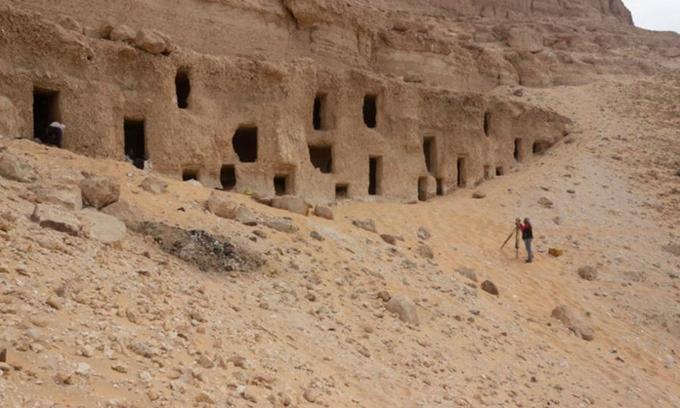 Lăng mộ đá ai Cập