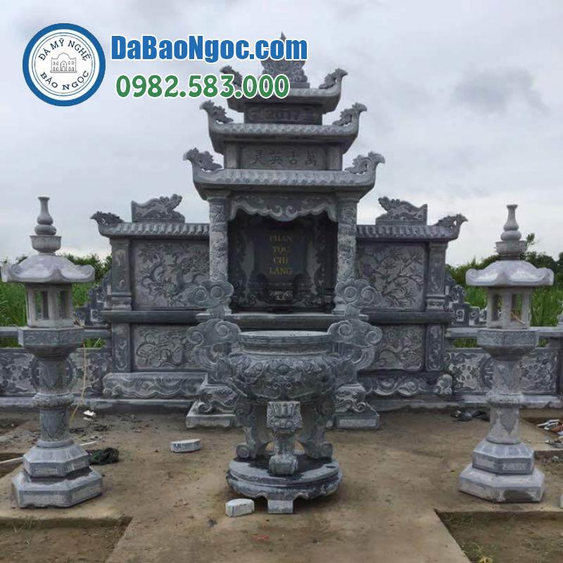 lăng thờ đá ở Ninh Bình