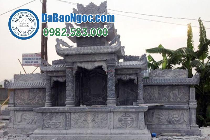 lăng thờ đá đẹp Ninh Bình