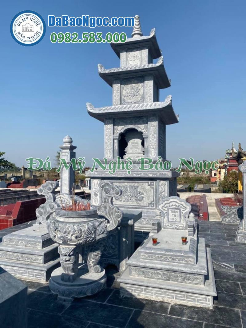 Lăng thờ đá hình tháp
